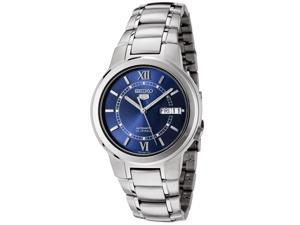 Men's Seiko 5 Automatic Blue Dial Stainless Steel