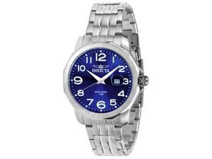 Men's Invicta II Blue Dial Stainless Steel
