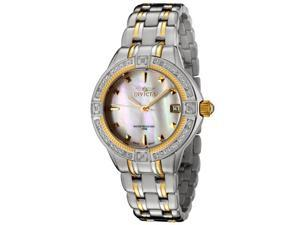 Women's Invicta II Diamond Accented Two Tone Stainless Steel
