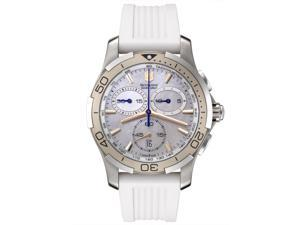 Swiss Army Women's Alliance Sport Chronograph White Mother of Pearl Dial White Ru