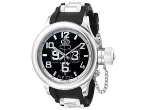 Invicta Men's Russian Diver Chronograph Black Rubber