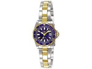 Invicta Women's Signature Two Tone Blue Dial