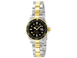 Invicta Women's Pro Diver Two Tone Stainless Steel
