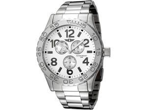 Invicta White Dial Stainless Steel Men's Watch