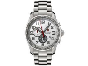 Swiss Army Men's Classic Chronograph Stainless Steel