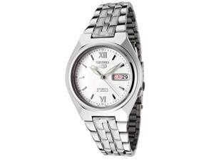 Men's Seiko 5 Automatic White Dial Stainless Steel