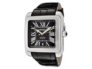 Rotary Men's Editions Automatic Black Leather