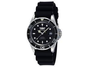 Invicta Men's Mako Pro Diver Automatic Black Rubber