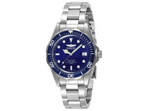 Invicta Men's pro diver sq steel wacth Stainless Steel