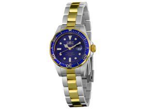 Invicta Women's Pro Diver Blue Dial Two Tone