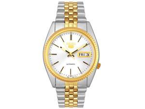 Seiko Men's Automatic 5 two tone watch Stainless Steel