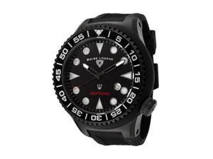 Swiss Legend Neptune 21818D Men's Black Dial Quartz Analog Watch
