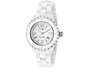 SWISS LEGEND Women's Karamica White Bezel White High-Tech Ceramic