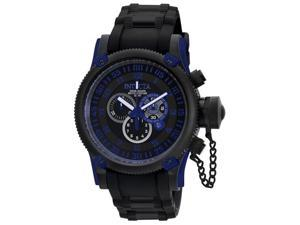 Invicta Russian Diver 0518 Men's Black Dial Swiss Quartz Chronograph Watch