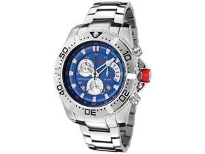 Red Line Men's Racer Chronograph Blue Dial Stainless Steel
