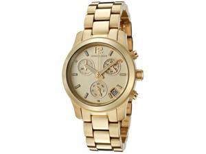 Michael Kors Chronograph Gold Tone Steel Ladies Watch MK5384