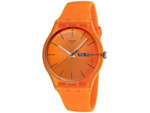Swatch Originals Pumpkin Rebel Orange Dial Unisex watch #SUOO700