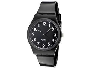 Swatch Originals Black Suit Black Dial Unisex watch #GB247