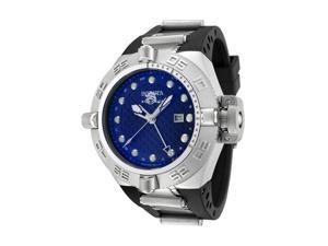 Invicta Men's Subaqua GMT Blue Dial Black Rubber