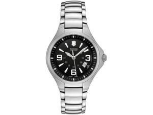Swiss Army Women's Base Camp Black Dial Stainless Steel