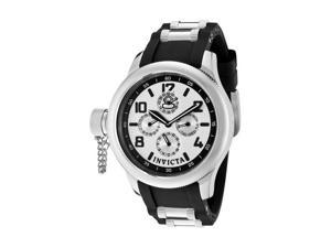 Invicta Women's Russian Diver Special Edition Chrono Black Polyurethane & SS