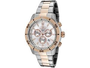 Men's Invicta II Chronograph Silver Dial Two Tone