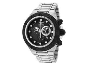 Invicta Men's Subaqua Chronograph Black Dial Stainless Steel