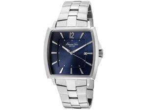 Kenneth Cole Men's Blue Dial Stainless Steel
