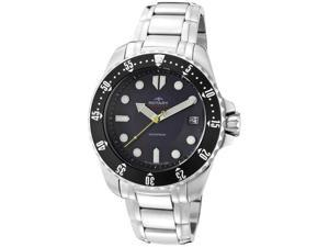 Rotary Men's Aquaspeed Black Dial Stainless Steel