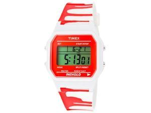 Timex Women's Multi-Function Grey Digital Dial White Zombie Resin