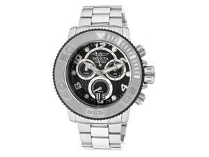 Invicta Men's Pro Diver/Sea Hunter Chronograph Black Dial SS