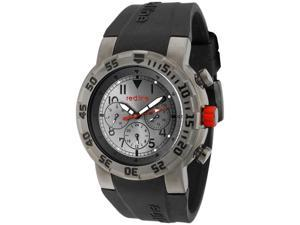 Red Line Men's RPM Grey Dial Black Silicone