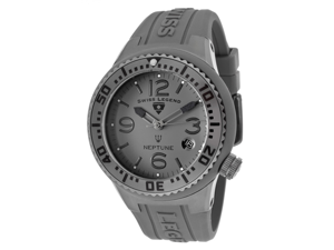 SWISS LEGEND Neptune (44 mm) Grey Dial Grey Silicone
