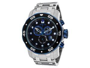 Invicta Men's Specialty Black Dial Stainless Steel