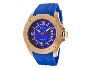 Artisan Blue Silicone Blue Textured Dial