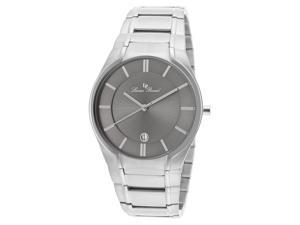 Lucien Piccard Men's Davos Gray Dial Stainless Steel