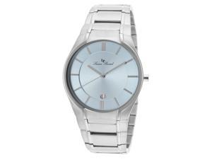 Lucien Piccard Men's Davos Light Blue Dial Stainless Steel