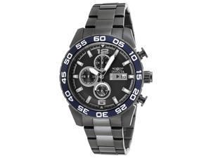 Invicta 13677 Men's Specialty Chronograph Gunmetal Dial Gunmetal Steel Watch