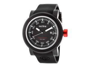 Torque Sport Black Silicone and Dial Black IP SS Case