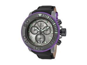 Men's Sea Hunter/Pro Diver Chronograph Gunmetal Dial Black Nylon