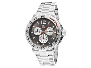 Tag Heuer Formula 1 Anthracite Sunray Steel Mens Watch CAU1113.BA0858