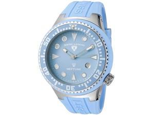 Neptune (48 mm) Light Blue Silicone Light Blue Dial