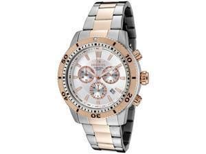 Men's Specialty Chronograph Silver Dial Two Tone