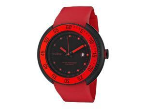 Driver Red Silicone Black Dial