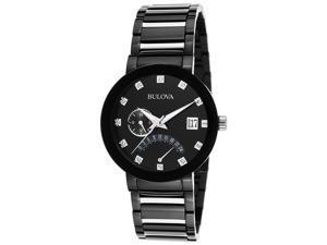 Bulova Men's Diamond Dual Time & Two Tone Watch