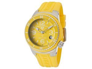 SWISS LEGEND Women's Neptune (40 mm) Yellow Dial Yellow Silicone