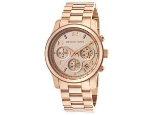 Women's Chronograph Rose Gold Tone Dial and Bracelet