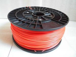 3D printer ABS Fluorescent Red 3mm Filament 1kg(2.2lb) for Reprap Makerbot Mendel UP