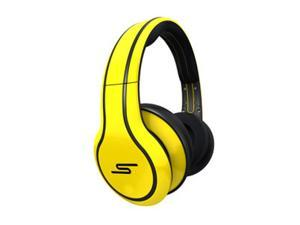 SMS Audio STREET by 50 Yellow SMS-WD-YLW Wired Over-Ear Headphones, Limited Edition