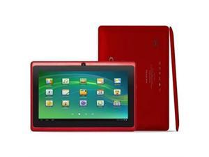 "Kocaso M752 7"" Android 4.0 Capacitive Touch Tablet PC - Dual Camera, All Winner A13 Cortex A8, 4GB HD (Red)"